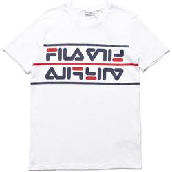 Textiel Heren T-shirts korte mouwen Fila 687474 Wit