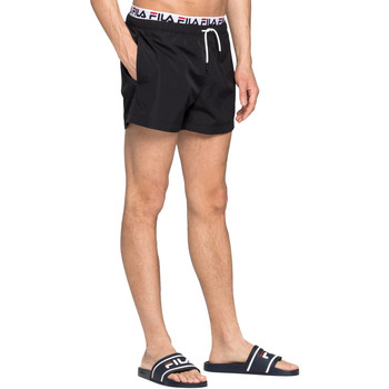 Textiel Heren Zwembroeken/ Zwemshorts Fila 687742 Zwart