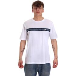 Textiel Heren T-shirts korte mouwen Antony Morato MMKS01686 FA100144 Wit