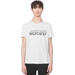 Textiel Heren T-shirts korte mouwen Antony Morato MMKS01816 FA100144 Wit