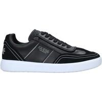 Schoenen Heren Lage sneakers Guess FM6NET LEA12 Zwart