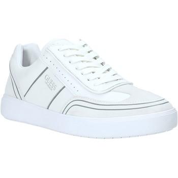 Schoenen Heren Lage sneakers Guess FM6NET LEA12 Wit