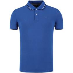 Textiel Heren Polo's korte mouwen Geox M0210A T2649 Blauw