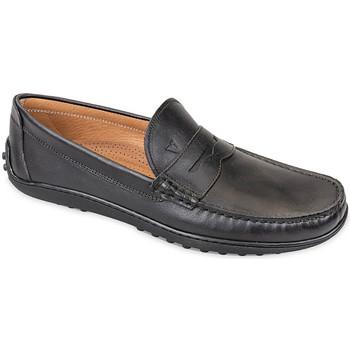 Schoenen Heren Mocassins Valleverde 11840 Zwart