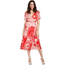 Textiel Dames Korte jurken Gaudi 011FD15014 Rood