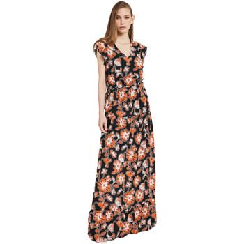 Textiel Dames Lange jurken Gaudi 011BD15020 Zwart