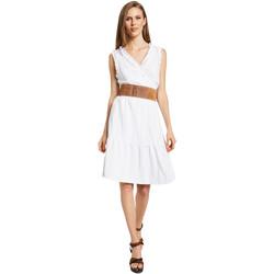 Textiel Dames Korte jurken Gaudi 011BD15037 Wit