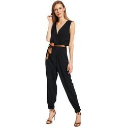Textiel Dames Jumpsuites / Tuinbroeken Gaudi 011BD25045 Zwart
