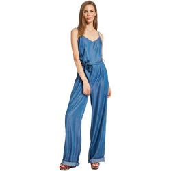 Textiel Dames Jumpsuites / Tuinbroeken Gaudi 011BD26038 Blauw
