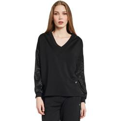 Textiel Dames Sweaters / Sweatshirts Gaudi 011BD64052 Zwart