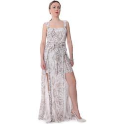 Textiel Dames Jumpsuites / Tuinbroeken Fracomina FR20SP506 Beige