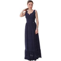 Textiel Dames Lange jurken Fracomina FR20SP588 Blauw