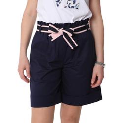 Textiel Dames Korte broeken / Bermuda's Fracomina FR20SP606 Blauw