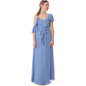 Textiel Dames Lange jurken Fracomina FR20SP031 Blauw