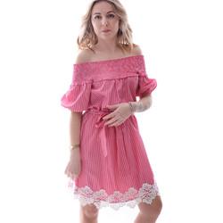 Textiel Dames Korte jurken Fracomina FR20SP526 Rood