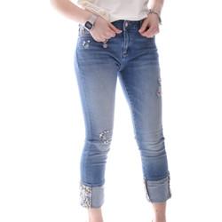 Textiel Dames Skinny jeans Fracomina FR20SPJGAIA1 Blauw