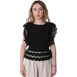 Textiel Dames Tops / Blousjes Fracomina FR20SP586 Zwart