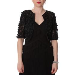 Textiel Dames Vesten / Cardigans Fracomina FR20SP636 Zwart