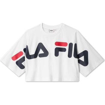 Textiel Dames T-shirts korte mouwen Fila 687497 Wit