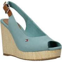 Schoenen Dames Sandalen / Open schoenen Tommy Hilfiger FW0FW04789 Groen