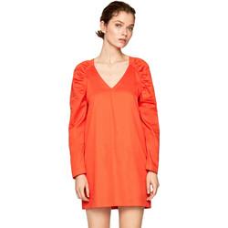 Textiel Dames Korte jurken Pepe jeans PL952657 Oranje