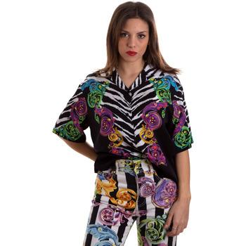 Textiel Dames Overhemden Versace B0HVB604S0793983 Zwart