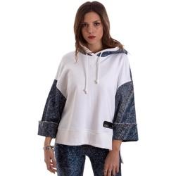 Textiel Dames Sweaters / Sweatshirts Versace B6HVB791SN900904 Wit