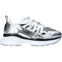 Schoenen Dames Lage sneakers NeroGiardini E010797D Zilver
