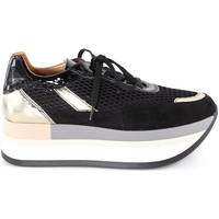 Schoenen Dames Lage sneakers Grace Shoes 331033 Zwart