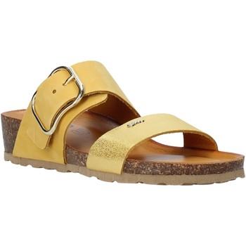 Schoenen Dames Leren slippers IgI&CO 5198233 Geel