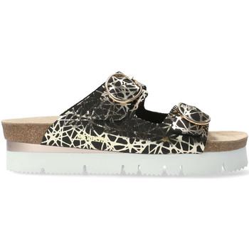 Schoenen Dames Leren slippers Mephisto P5133613 Zwart