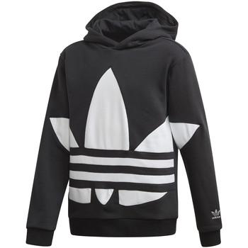 Textiel Kinderen Sweaters / Sweatshirts adidas Originals FS1857 Zwart