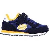 Schoenen Kinderen Lage sneakers Skechers 97366N Blauw