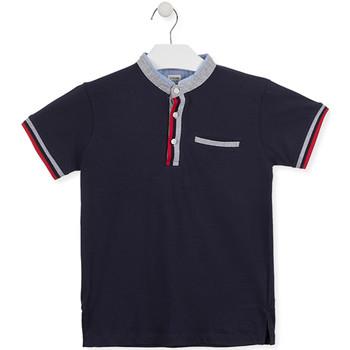 Textiel Jongens Polo's korte mouwen Losan 013-1791AL Blauw