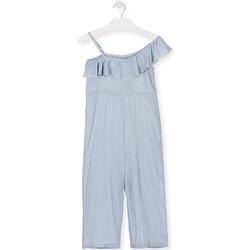 Textiel Meisjes Jumpsuites / Tuinbroeken Losan 014-7022AL Blauw