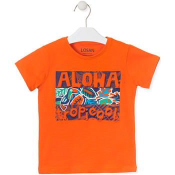 Textiel Kinderen T-shirts korte mouwen Losan 015-1025AL Oranje