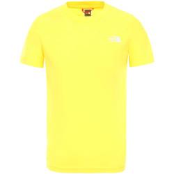 Textiel Kinderen T-shirts korte mouwen The North Face NF0A2WANDW91 Geel