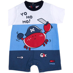 Textiel Jongens Jumpsuites / Tuinbroeken Chicco 09050813000000 Blauw