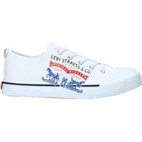 Schoenen Kinderen Lage sneakers Levi's VORI0008T Wit