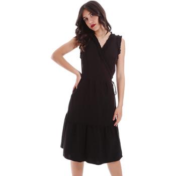 Textiel Dames Korte jurken Gaudi 011BD15037 Zwart