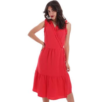 Textiel Dames Korte jurken Gaudi 011BD15037 Rood