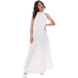 Textiel Dames Lange jurken Gaudi 011FD15073 Wit