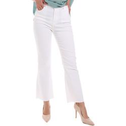 Textiel Dames Bootcut jeans Gaudi 011BD25017 Wit