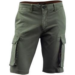 Textiel Heren Korte broeken / Bermuda's Lumberjack CM80747 002 602 Groen