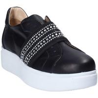 Schoenen Dames Instappers Exton E05 Zwart