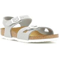 Schoenen Kinderen Sandalen / Open schoenen Birkenstock 831783 Zilver