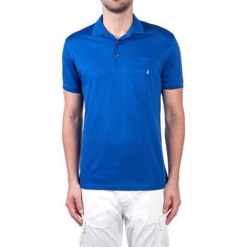 Textiel Heren Polo's korte mouwen Navigare NV72062 Blauw