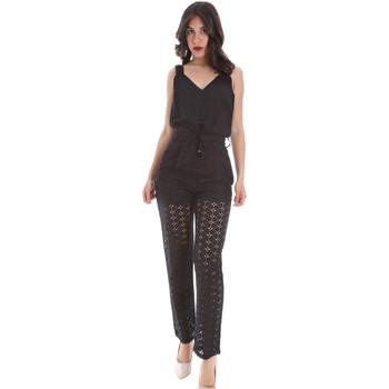 Textiel Dames Jumpsuites / Tuinbroeken Gaudi 011FD25009 Zwart