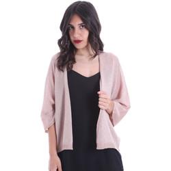 Textiel Dames Vesten / Cardigans Gaudi 011FD53010 Roze