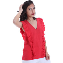 Textiel Dames Tops / Blousjes Gaudi 011BD45031 Rood